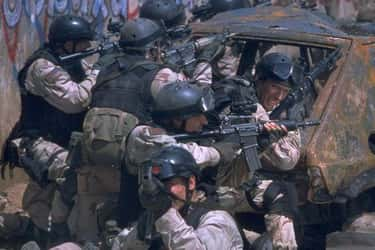 Black Hawk Down is listed (or ranked) 2 on the list Brutal War Movies That Absolutely Got It Right