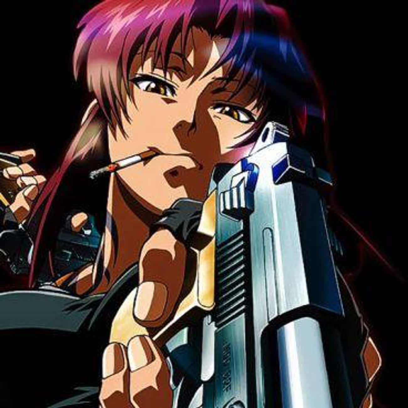 Black Lagoon is listed (or ranked) 3 on the list 15 Anime With Strong Female Characters