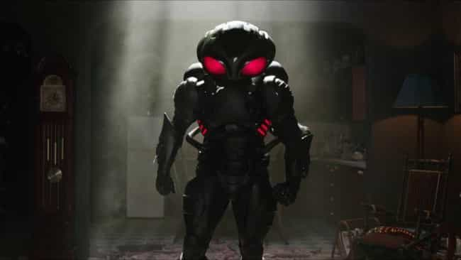 Black Manta is listed (or ranked) 2 on the list Here Are All The Characters In 'Aquaman' That You've Never Seen Before