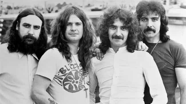 Black Sabbath is listed (or ranked) 4 on the list 20 Legendary Artists Who Overcame Critical Bashing