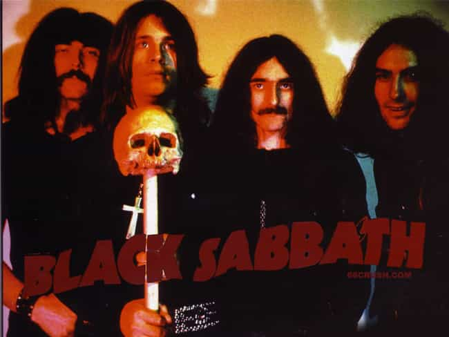 Black Sabbath is listed (or ranked) 3 on the list The Best Band Name Origins Stories
