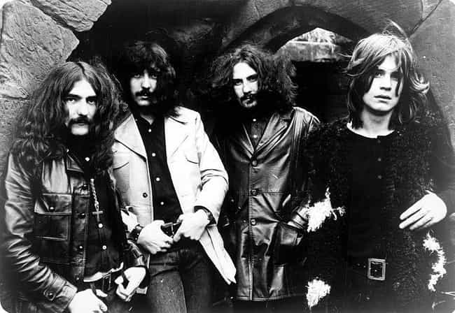 Black Sabbath is listed (or ranked) 2 on the list Famous Bands That Originally Had Horrible Names