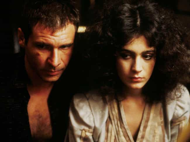 Blade Runner is listed (or ranked) 2 on the list 12 Most Memorable Movie And TV Romances Between Humans And Machines