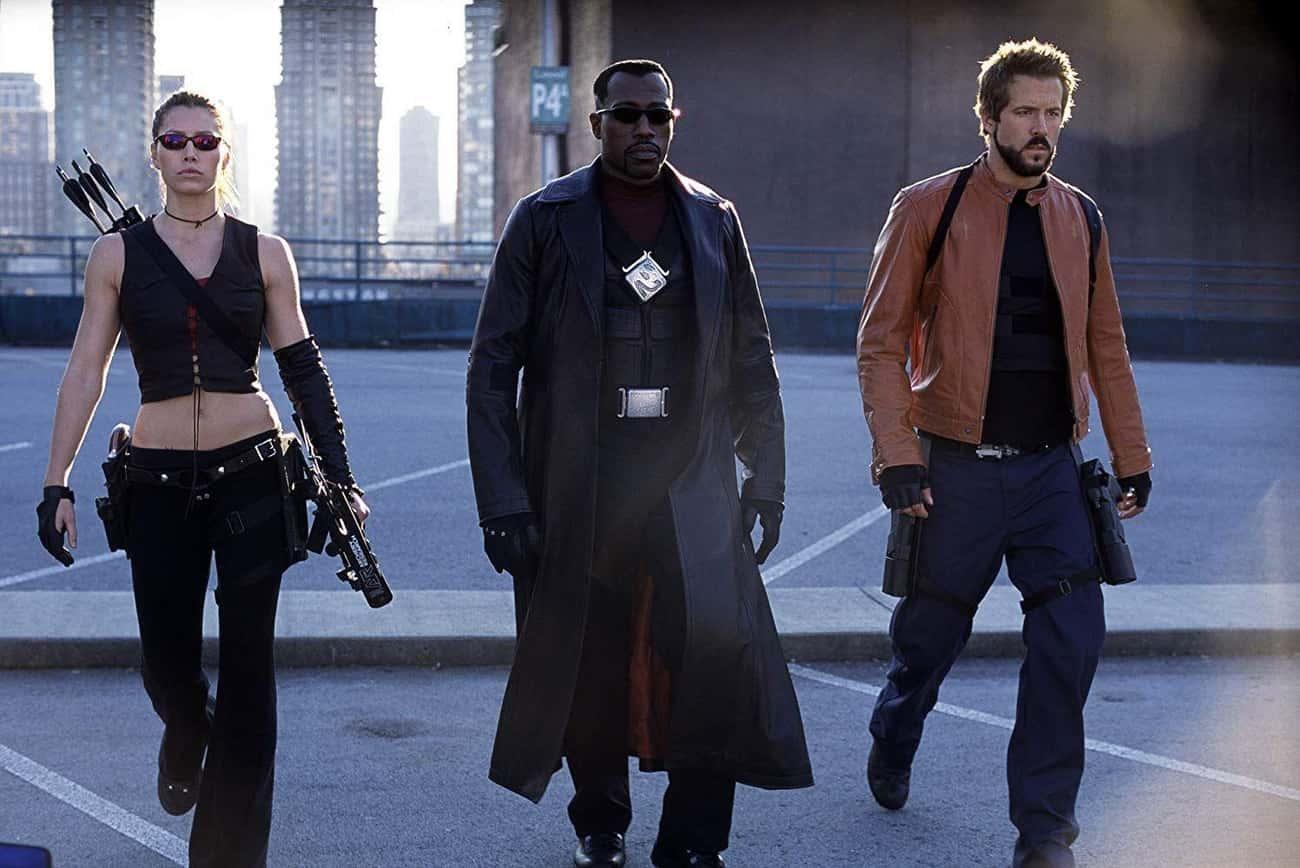 Wesley Snipes And David Goyer - 'Blade: Trinity'