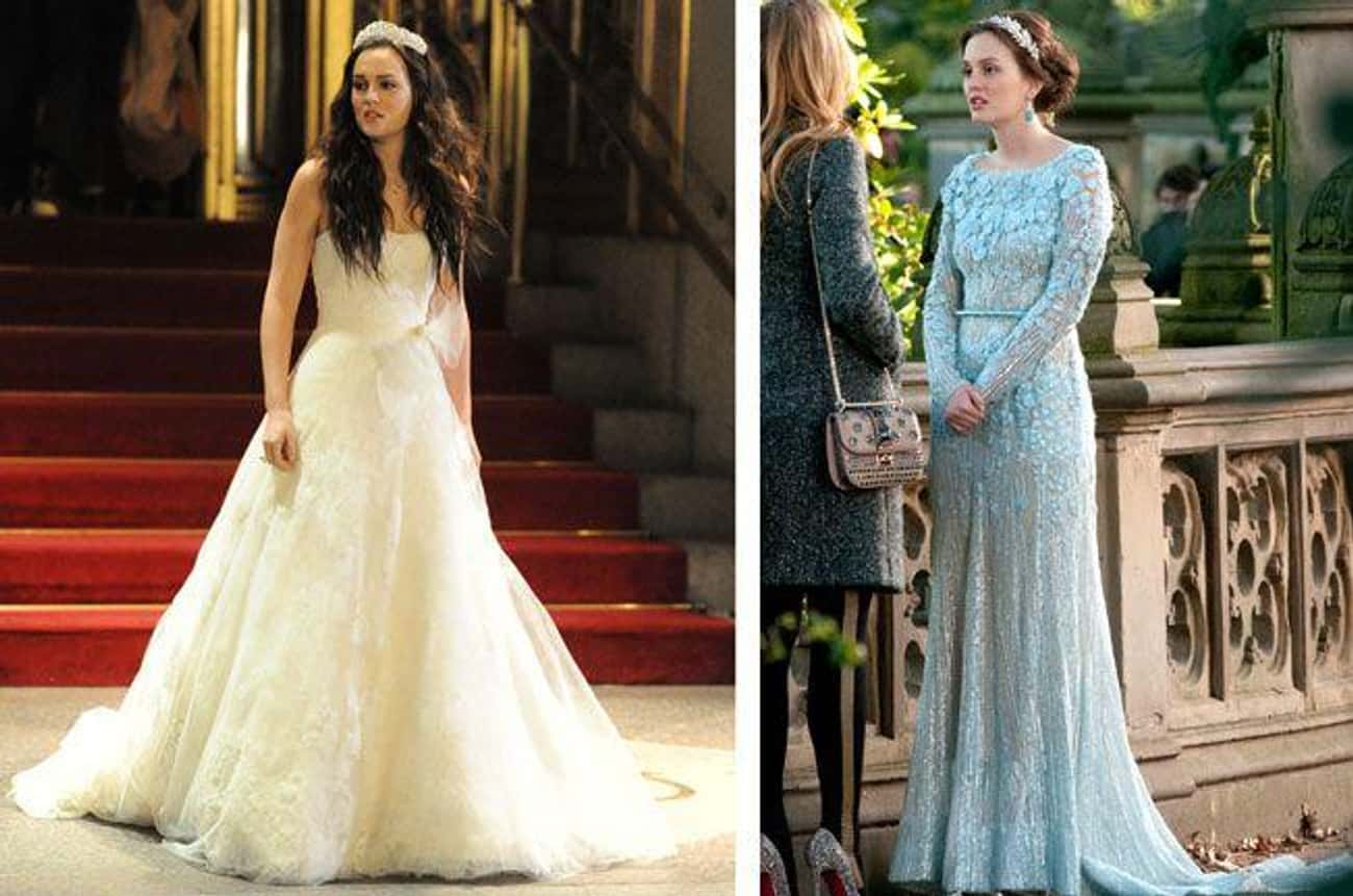 Blair Waldorf is listed (or ranked) 3 on the list The 36 Best Wedding Dresses in the History of Television