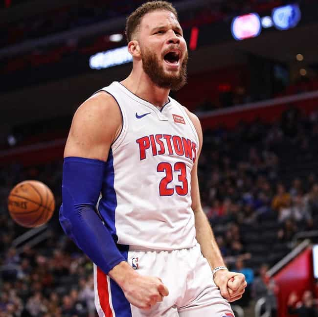 Blake Griffin is listed (or ranked) 4 on the list The Biggest Contracts in the NBA Right Now