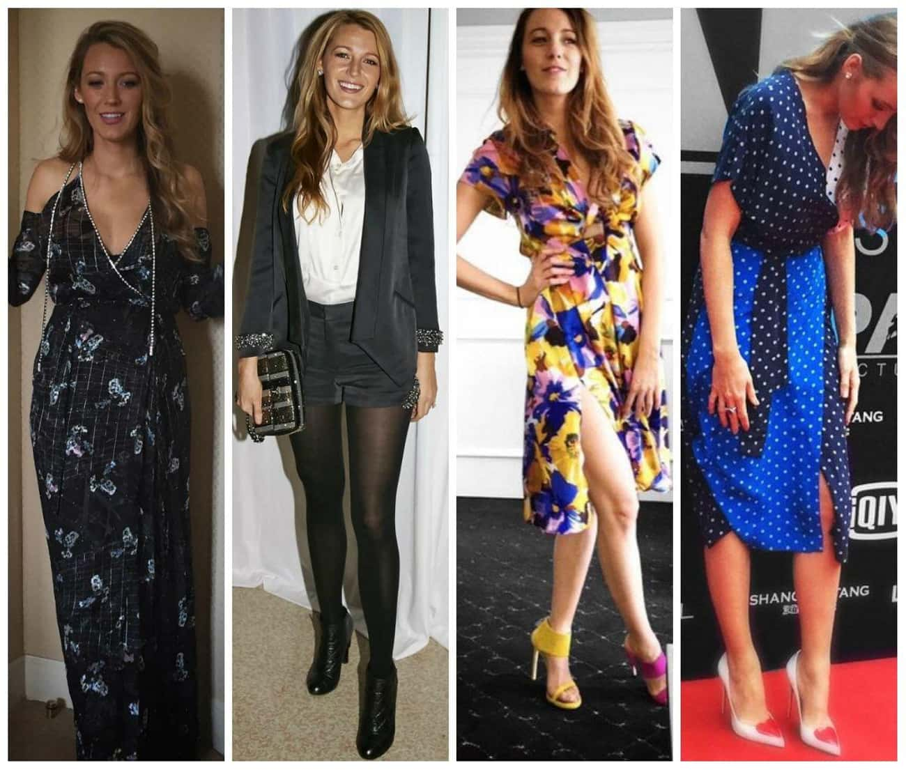 Blake Lively is listed (or ranked) 4 on the list The Most Stylish Female Celebrities