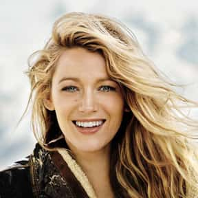 Blake Lively is listed (or ranked) 10 on the list Which Celeb Do You Want as Your Introverted Best Friend?