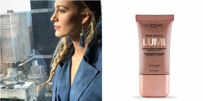 Blake Lively is listed (or ranked) 1 on the list Drugstore Beauty Products That Celebrities Love