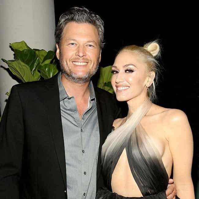 Blake Shelton is listed (or ranked) 1 on the list Gwen Stefani Loves And Hookups