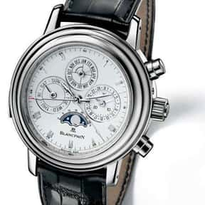 Blancpain is listed (or ranked) 13 on the list The Best Watch Brands