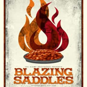 Blazing Saddles is listed (or ranked) 21 on the list The Best Movies Roger Ebert Gave Four Stars
