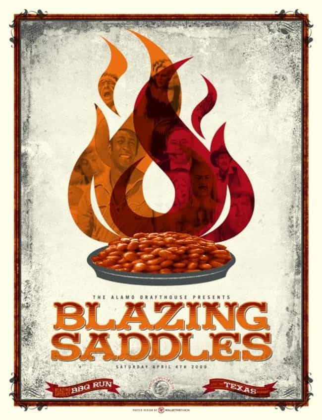 Blazing Saddles is listed (or ranked) 4 on the list What to Watch If You Love 'Curb Your Enthusiasm'