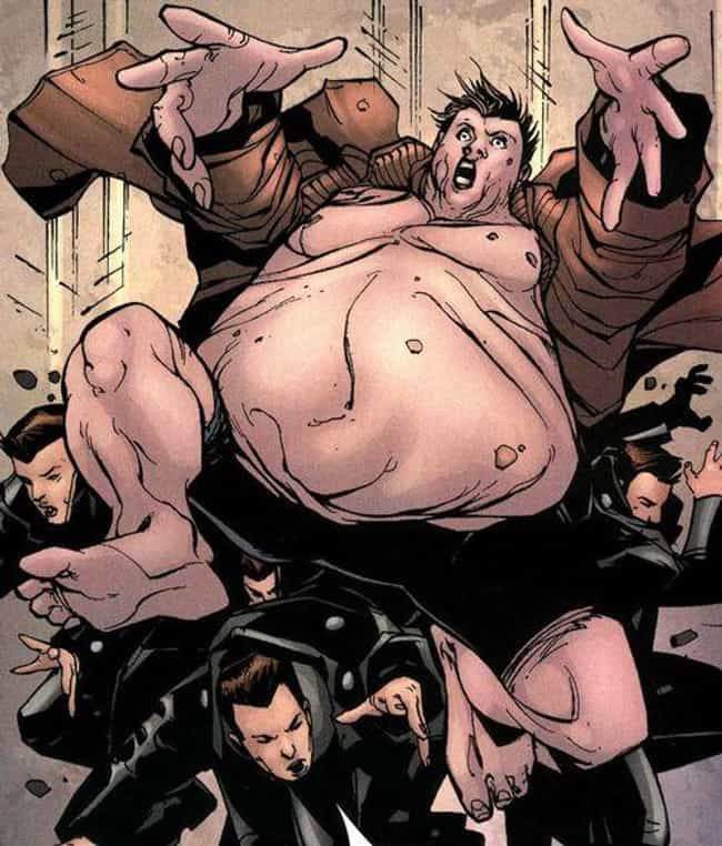 Blob is listed (or ranked) 4 on the list The Best Overweight Characters in Comics
