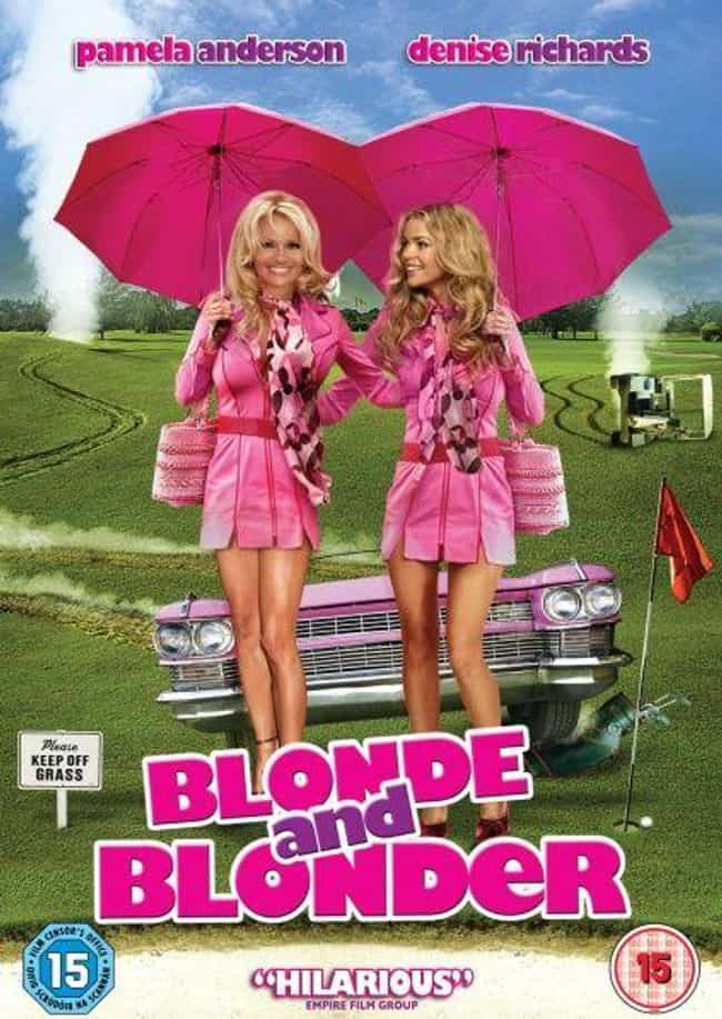 Blonde and Blonder is listed (or ranked) 4 on the list Movie Posters Where Actors Heads Are Clearly Photoshopped Onto Different Bodies