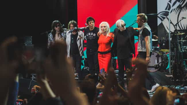 Blondie is listed (or ranked) 3 on the list The Nastiest Fights In Rock & Roll Hall Of Fame History