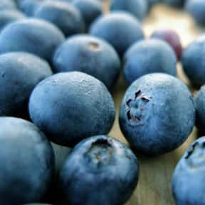 Blueberry is listed (or ranked) 3 on the list The Healthiest Superfoods