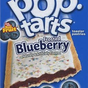Blueberry Pop-Tarts is listed (or ranked) 4 on the list The Very Best Pop-Tart Flavors