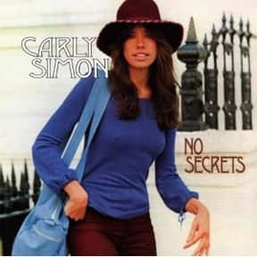 No Secrets is listed (or ranked) 1 on the list The Best Carly Simon Albums of All Time