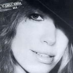 Spy is listed (or ranked) 8 on the list The Best Carly Simon Albums of All Time