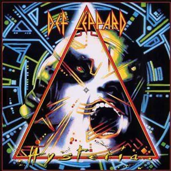 Hysteria is listed (or ranked) 4 on the list The 10 Most Expensive Albums Ever Made
