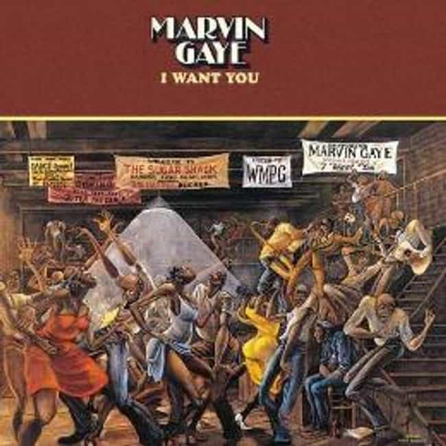 I Want You is listed (or ranked) 3 on the list The Best Marvin Gaye Albums of All Time