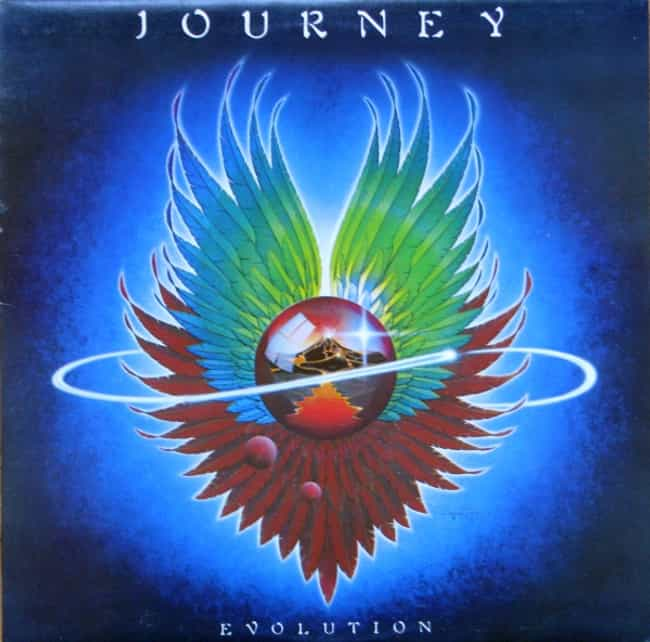 Evolution is listed (or ranked) 4 on the list The Best Journey Albums of All Time