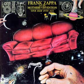One Size Fits All is listed (or ranked) 1 on the list The Best Frank Zappa Albums List
