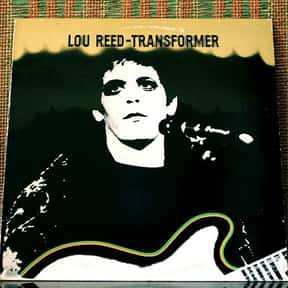 Transformer is listed (or ranked) 25 on the list The Greatest Albums of All-Time