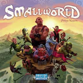 Small World is listed (or ranked) 9 on the list The Best Board Games of All Time
