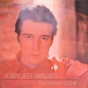 Five Years Gone is listed (or ranked) 19 on the list The Best Jerry Jeff Walker Albums of All Time