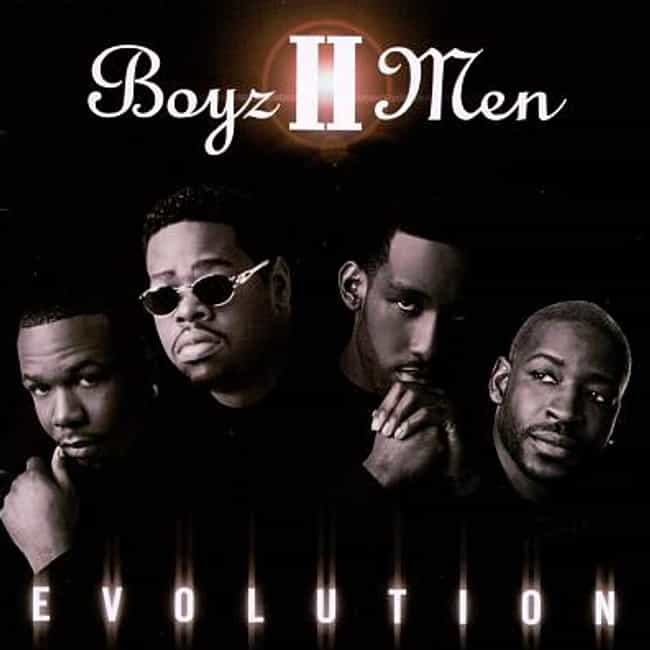 Evolution is listed (or ranked) 3 on the list The Best Boyz II Men Albums of All Time