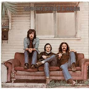 """Crosby, Stills & Nash"" - Cros is listed (or ranked) 12 on the list The 50 Greatest Albums Released Between 1960 - 1969"