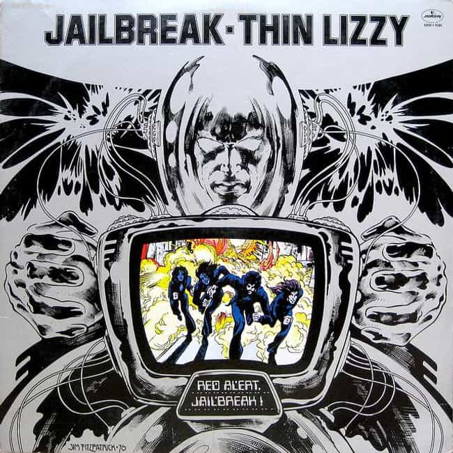 Jailbreak (bonus disc) is listed (or ranked) 1 on the list The Best Thin Lizzy Albums of All Time