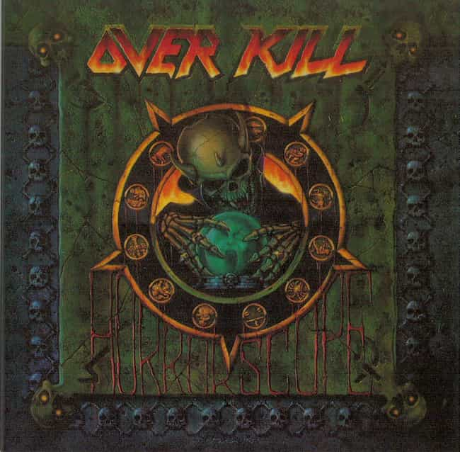 Horrorscope is listed (or ranked) 2 on the list The Best Overkill Albums of All Time