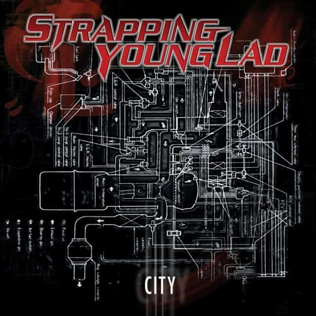 City is listed (or ranked) 3 on the list The Best Devin Townsend and Strapping Young Lad Albums, Ranked