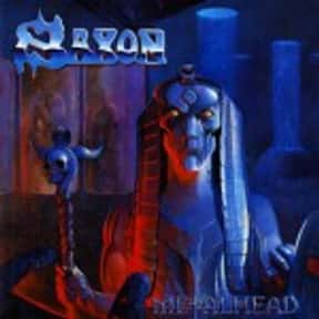 Metalhead is listed (or ranked) 17 on the list The Best Saxon Albums of All Time
