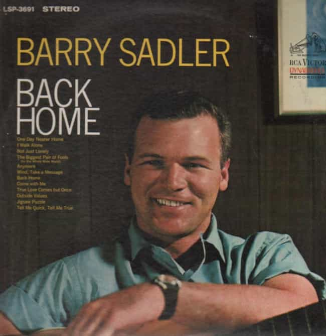 Barry Sadler is listed (or ranked) 1 on the list 12 Famous U.S. Green Berets