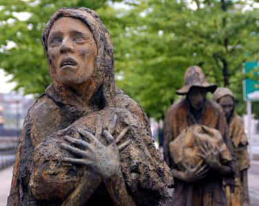 """The Irish Were Forced To Suffer In The """"Great Famine"""" Because Of English Policies"""