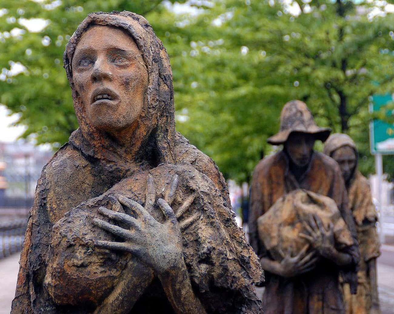 "The Irish Were Forced To Suffer In The ""Great Famine"" Because Of English Policies"