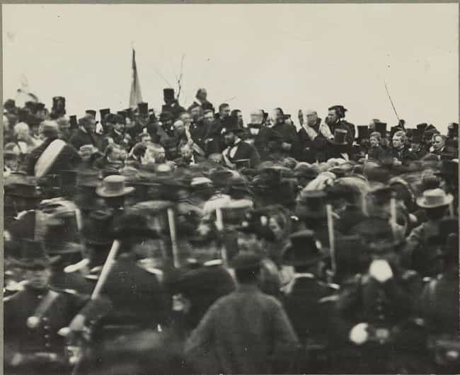 Gettysburg Address is listed (or ranked) 7 on the list Historical Events You Most Want To Go Back and See