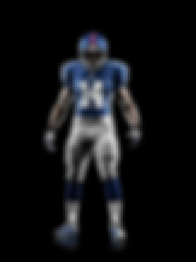 New York Giants is listed (or ranked) 28 on the list The Best Uniforms in the NFL