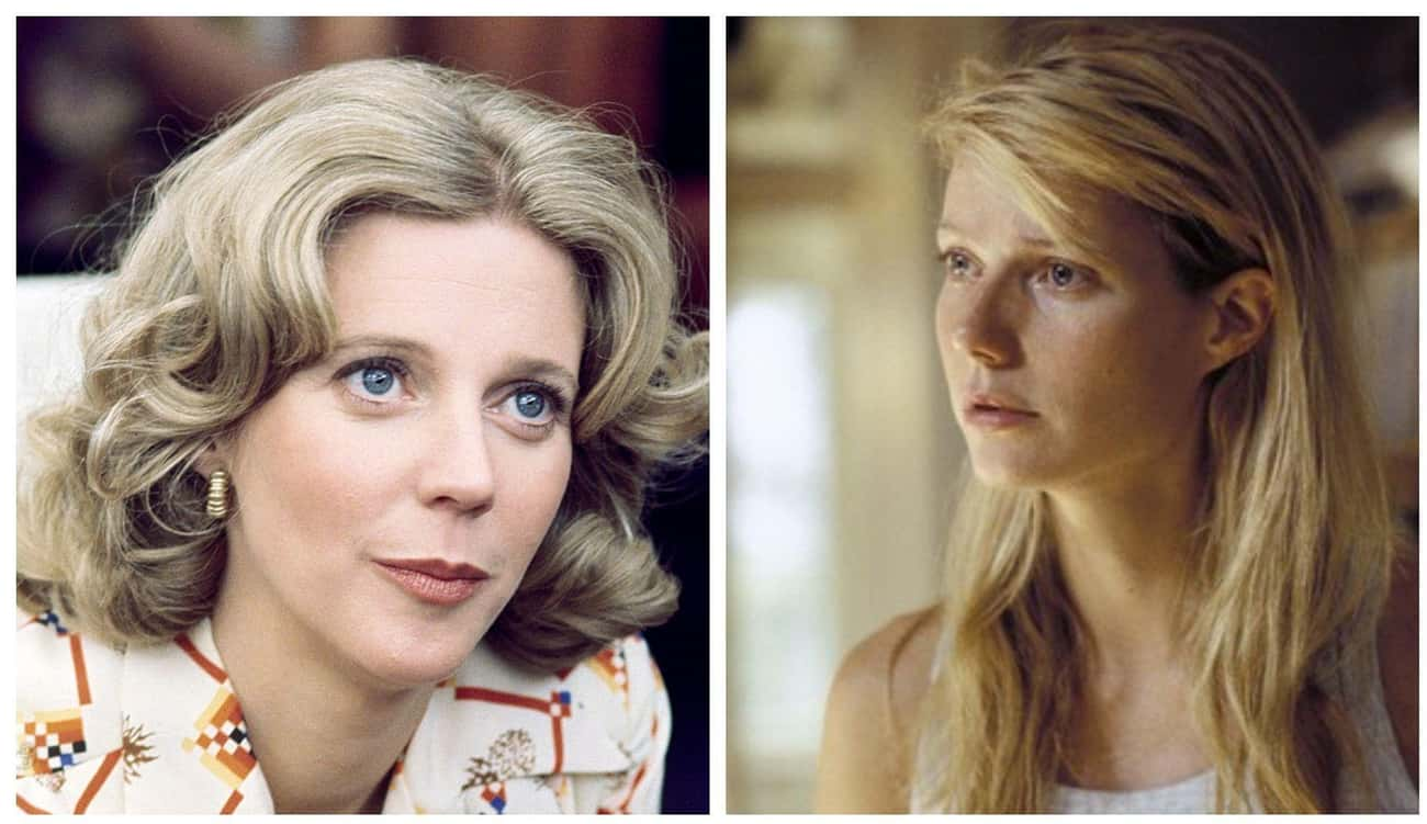 Blythe Danner And Gwyneth Palt is listed (or ranked) 1 on the list Photos Of Famous Mothers And Their Famous Daughters At The Same Age