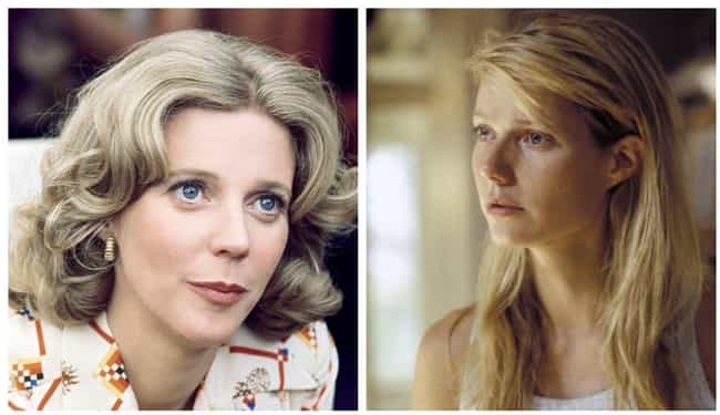 Blythe Danner is listed (or ranked) 1 on the list Photos Of Famous Mothers And Their Famous Daughters At The Same Age