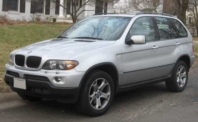BMW X5 is listed (or ranked) 4 on the list The Best Fuel Efficient SUVs: Large And Mid Size SUVs