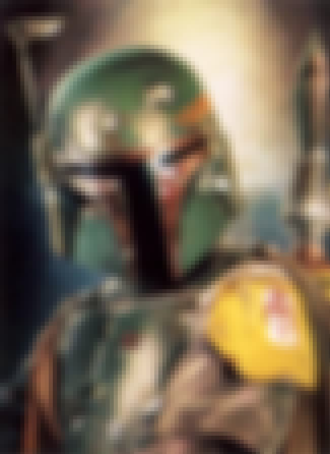 Boba Fett is listed (or ranked) 3 on the list The Greatest Masked Villains