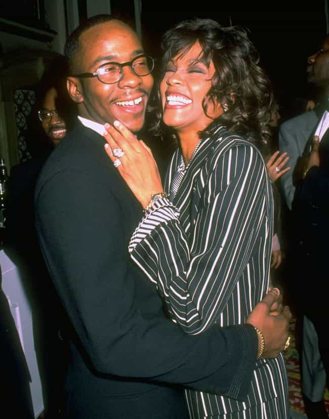 Bobby Brown is listed (or ranked) 4 on the list Whitney Houston Loves and Hookups