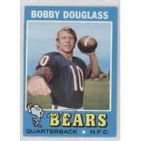 Bobby Douglass is listed (or ranked) 2 on the list Left Handed Football Players