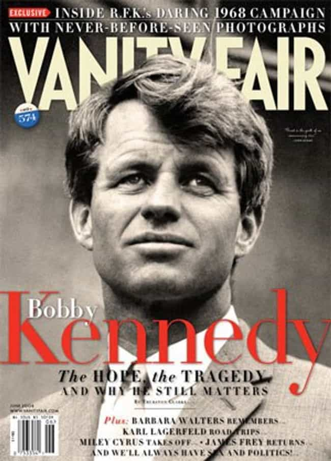 Bobby Kennedy is listed (or ranked) 7 on the list The Best Vanity Fair Covers