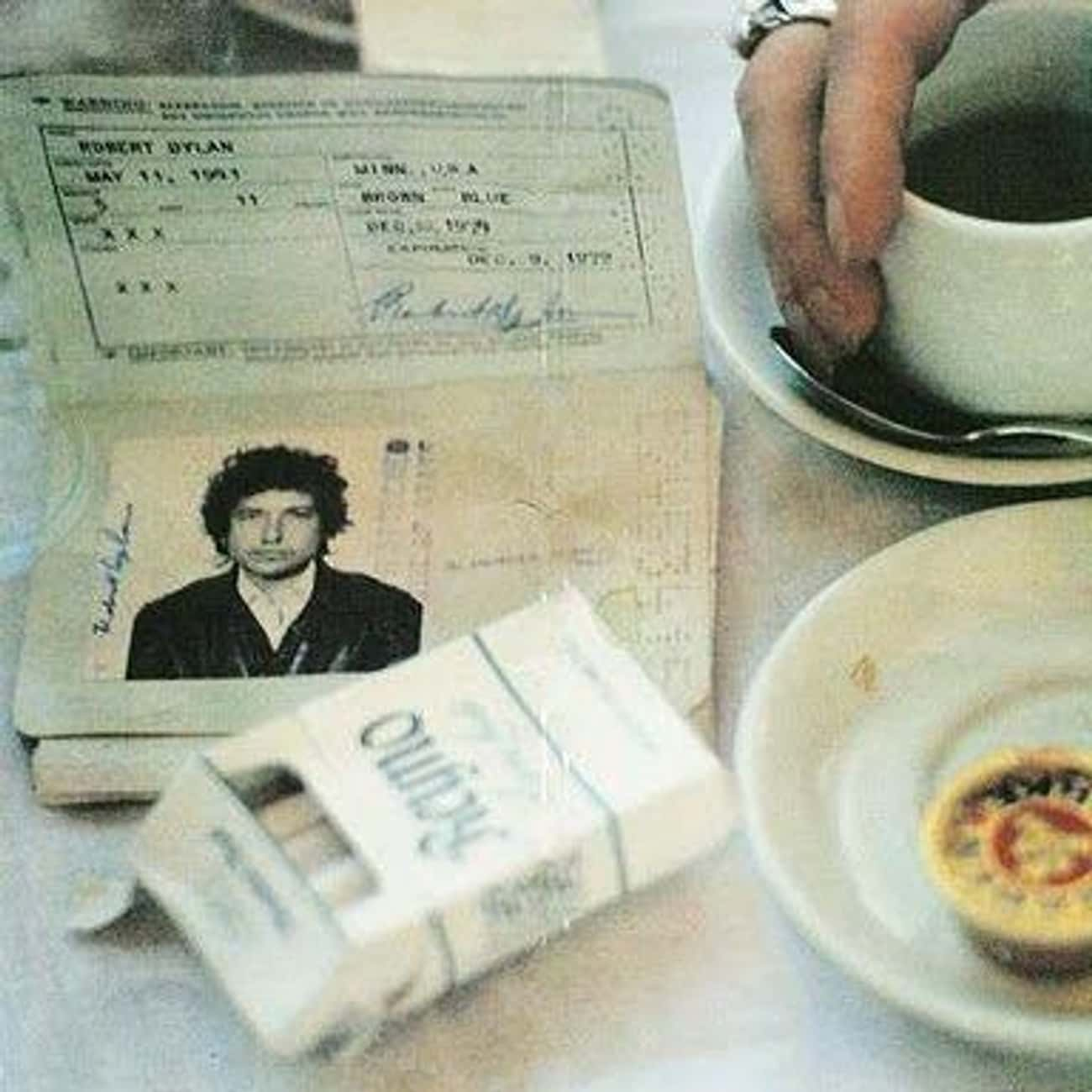 Bob Dylan is listed (or ranked) 2 on the list Celebrity Passport Photos